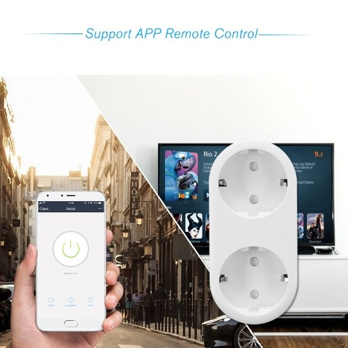 4PCS Smart WiFi Socket EU Type E