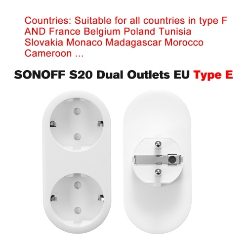 4PCS Smart WiFi Socket EU Type E