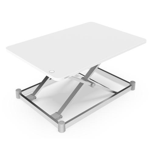 Piattaforma di sollevamento per laptop elettrica Tavolo di sollevamento per laptop Supporto per monitor per laptop Scrivania regolabile in altezza Scrivania per computer di sollevamento