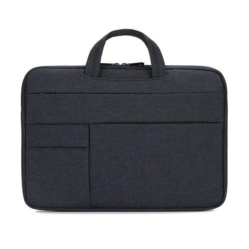 Портативная сумка для ноутбука 15,6-дюймовый чехол для ноутбука Водонепроницаемая нейлоновая сумка для ноутбука Портфель для отдыха Деловая сумка Темно-синий