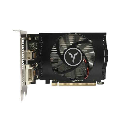 Yeston GT1030-4GD4 TA-Grafikkarte Gaming-Grafikkarte 1152-1380 MHz / 2100 MHz 4G / 64-Bit / DDR4-Speicher HDMI + DVI-D-Ausgangsanschlüsse