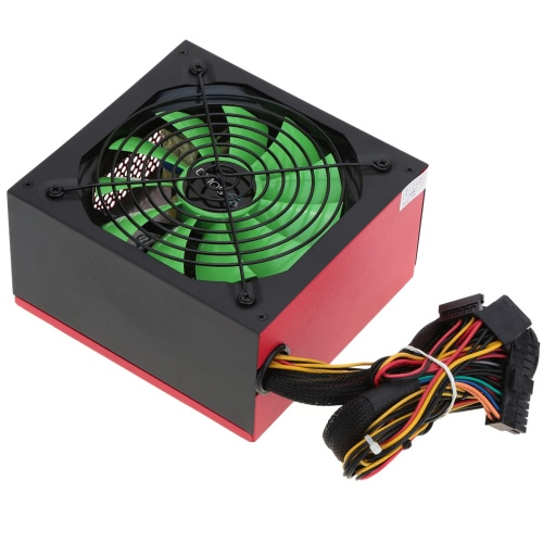 400W ATX Gaming Power Supply PSU 12cm Temperature Control Fan Silent for PC Computer