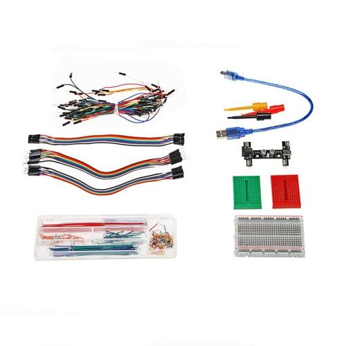 Wielofunkcyjny Breadboard Jumper Wire Kit do Arduino DIY