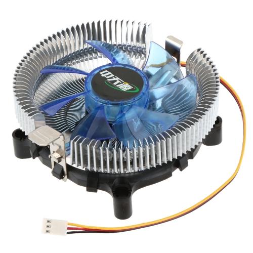 ZHONGTIANYUAN liga de alumínio de CPU Cooler para Intel LGA775/1155/1156 AMD Am2 AMD S-754/939/940 bastante radiador
