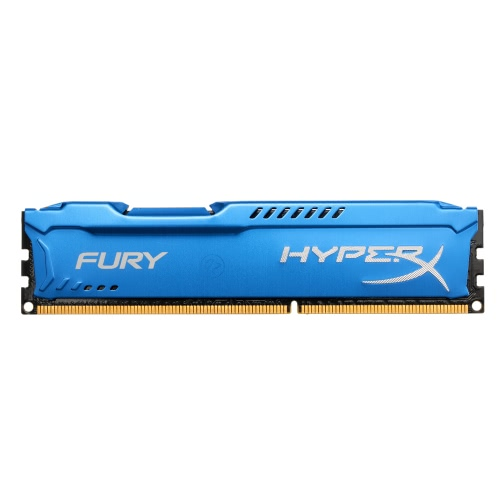 Kingston HyperX FURY 4GB Desktop Memory 1866MHz DDR3 CL10 SDRAM 1.5V 240-pinos HX318C10F / 4
