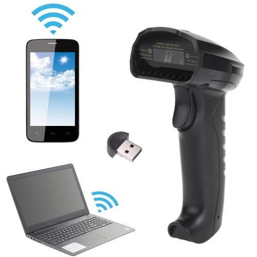 BP alta velocidade sem fio Bluetooth e USB 2.0 com fio automática Barcode Scanner Handheld Scanning Bar Code Reader