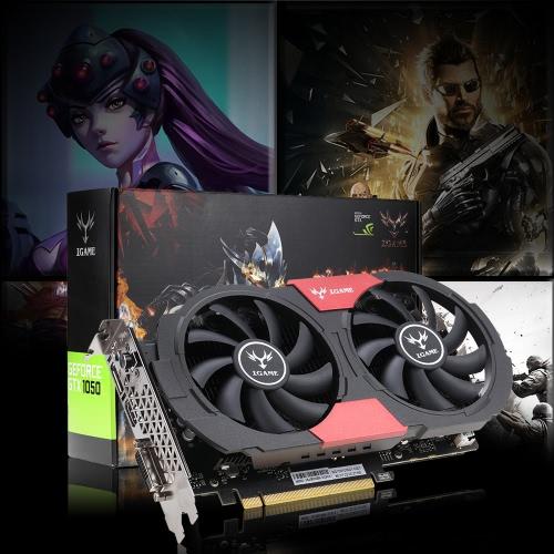 Cartão de vídeo NVIDIA GeForce GTX iGame colorido