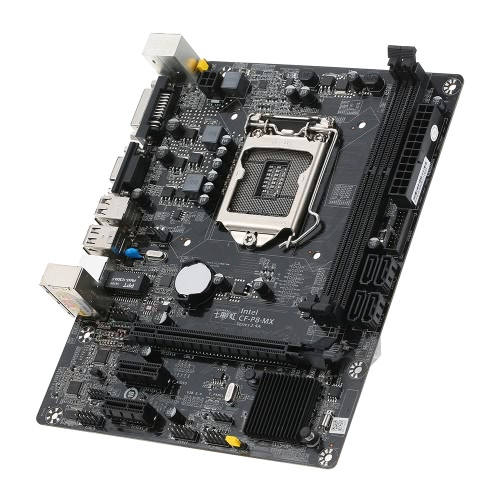 Colorful C.H81M plus V24A Motherboard Mainboard Systemboard for Intel H81/LGA1150 DDR3 SATA3 USB3.0 for Desktop