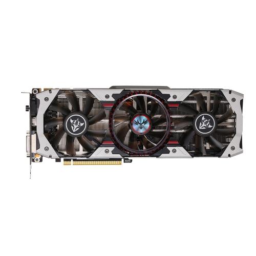 Kolorowa karta graficzna NVIDIA GeForce GTX 1070Ti firmy iGame