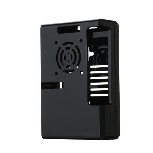 Pokrowiec ochronny na Raspberry Pi pasuje do Raspberry Pi 3 (czarny)