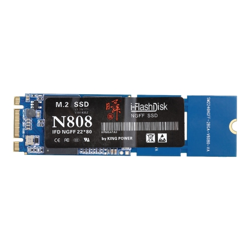 N808 Digital SSD i-Flash Disk NGFF M.2 Interfejs 128 GB Solid State Drive dla komputera Ultrabook