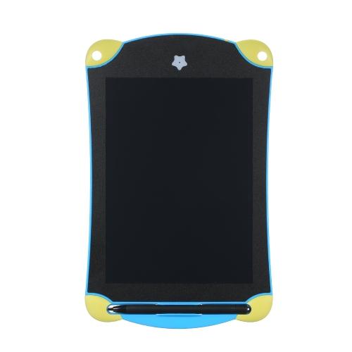Przenośny 8,5-calowy ekran LCD Tablica rysunkowa Tablica pisma Pismo ręczne Paiting Cyfrowy notatnik Bez papieru z wbudowanym długopisem Przycisk Wsparcie baterii Ekran Czyszczenie i blokowanie Funkcja