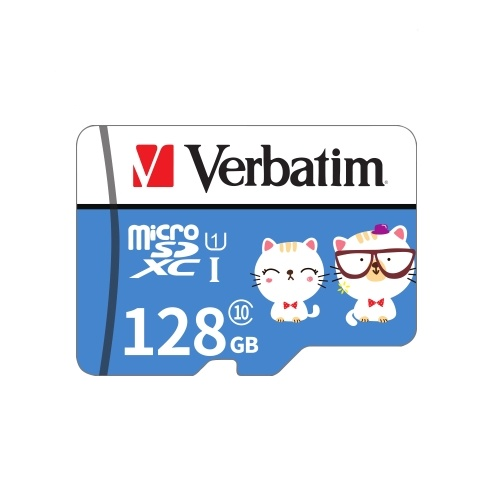Tarjeta de memoria Verbatim Micro SD Class10 TF Tarjeta de 128 GB