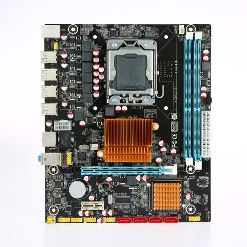 Runing X58V310S1 Motherboard MATX Motherboard 1366 Processor 2 DIMM Slots DDR3 Memory Up to 32GB Memory Capacity