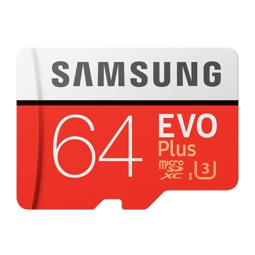 Samsung EVO PLUS U3 Memory Card 256GB 128GB 64GB 32GB Micro SD SDHC Adaptor Class 10 SD Card