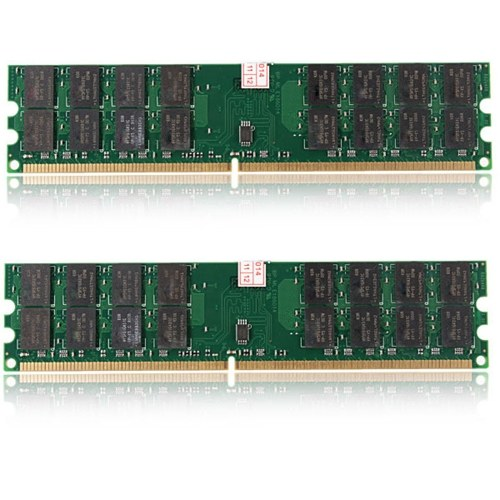 2 Pcs de 4GB DDR2 800Mhz de memória RAM PC2 6400 240 pinos Dimm