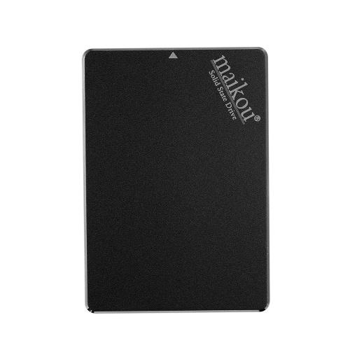 Жесткий диск MAIKOU Mobile SSD 60G / 120G / 240G / 360G / 480G / 1TB Жесткий диск Type-C и USB 3.0 Универсальный черный и 1024 ГБ