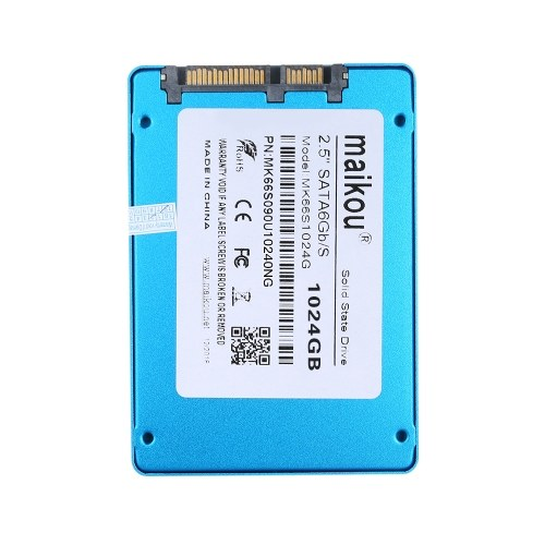 Жесткий диск MAIKOU Mobile SSD 60G / 120G / 240G / 360G / 480G / 1TB Жесткий диск Type-C и USB 3.0 Универсальный синий и 1024 ГБ