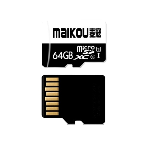MaiKou High Speed TF Card Micro SD Cards Phone Memory Card 64GB&Adapter