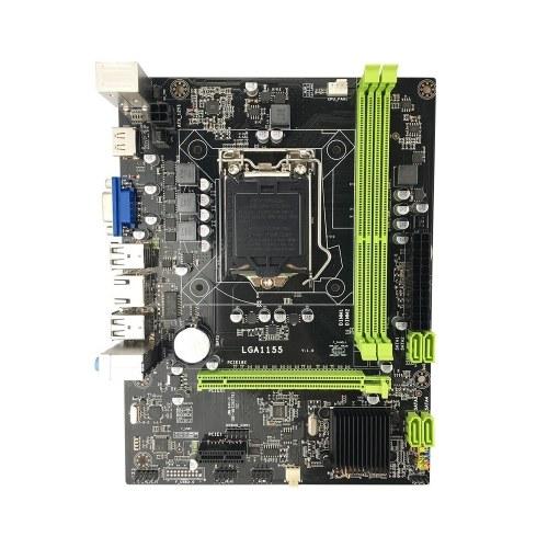 Scheda madre Jingsha H61 M-ATX LGA1155 DDR3 Mainboard Core i5 3330 CPU