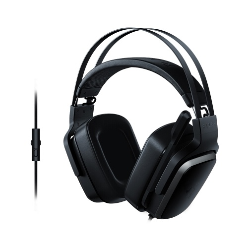 Razer Tiamat 2.2 V2 Analog Gaming Headset Headphone Earphone In-Ear Double Subwoofer Drivers 7.1 Virtual Surround Sound Ergonomic Design