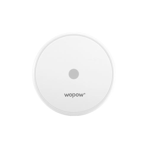 WOPOW Беспроводное зарядное устройство Double Quick Charge для iPhone Мобильный телефон Samsung Quick Charge Настольное беспроводное зарядное устройство White HW08