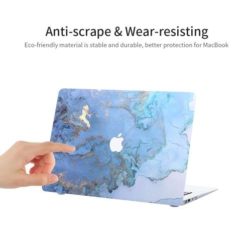 """MacBook Pro 13 Hülle Superdünne gummierte Laptop-Hülle mit Schutz für Apple 13 """"MacBook Pro Modell A1278 Scenery Pattern"""