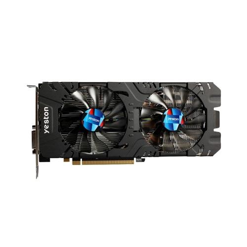 Yale RX580-2048SP-8G D5 GAEA Placas Gráficas Radeon Chill Polaris 20 Dupla Ventilador de Refrigeração 8 GB de Memória GDDR5 256bit DP * 3 / HDMI / DVI-D GPU