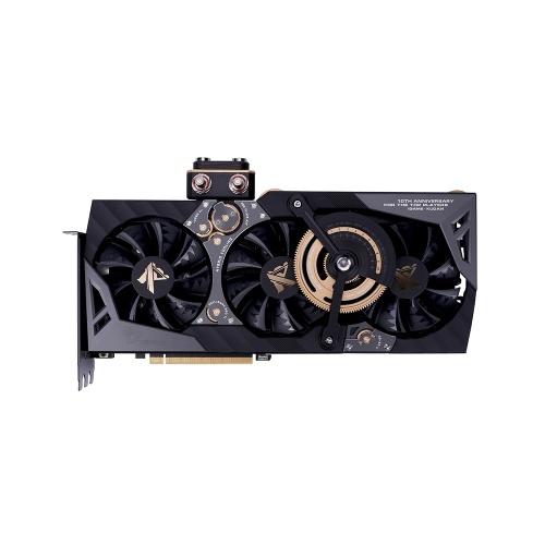 Placa de vídeo colorida iGame GeForce RTX 2080 Ti Kudan GDDR6 de 11 GB Placa gráfica de 1818 MHz Placa gráfica de GPU para jogos Overclock de uma tecla