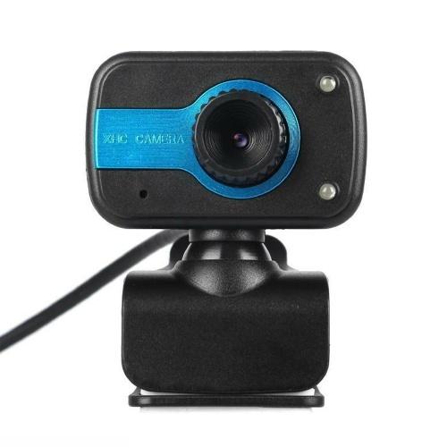 Videocamera digitale USB 2.0 da 12,0 Megapixel Clip-on con microfono per videochiamate desktop portatile