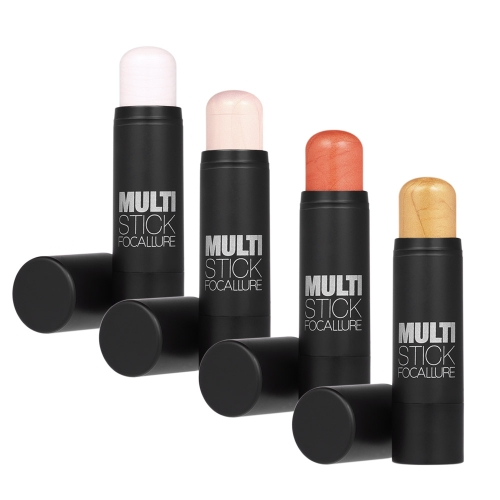 Anself 4pcs 4 Colors Makeup Highlighter Shadow Sticks Concealer Shimmer Blusher Contour Cream Cosmetic Multi-Stick