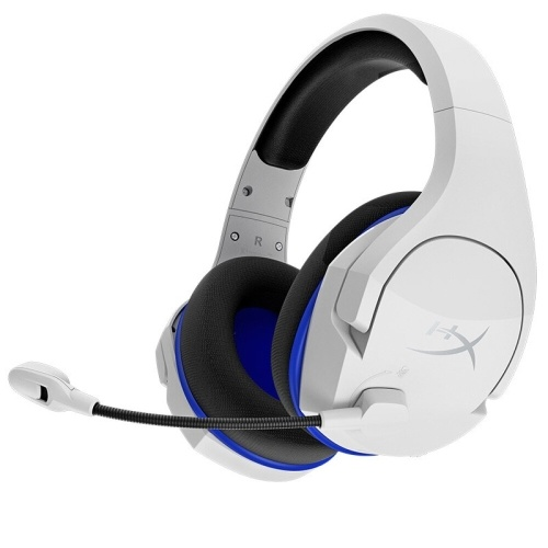 Kingston HyperX Cloud Stinger Core Wireless Headset 2.4GHz Wireless Gaming Headset with Noise Reduction Microphone White
