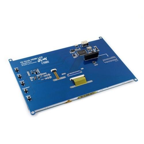 Waveshare 11870 Monitor LCD touchscreen resistivo da 10,1 pollici Schermo resistivo 1024 * 600 per Raspberry Pi Mini PC / Win10 / 8.1 / 8/7 / XP