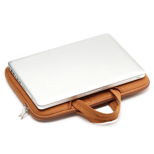 "LSS Zipper Soft Carrying Sleeve Bag Case Handbag 13-inch 13"" 13.3"" for MacBook Air/Pro/Retina Display iPad Pro Ultrabook Laptop Notebook Portable thumbnail"
