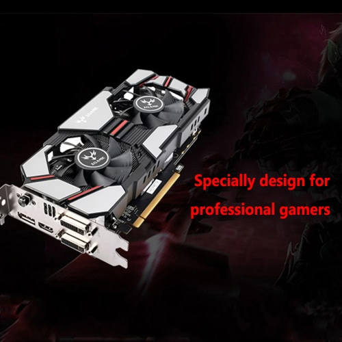 Colorful 2048MB NVIDIA GeForce GTX960 GPU 2GB 128bit 2*DVI+HDMI+DP Port DDR5 PCI-E X16 3.0 Video Graphics Card фото