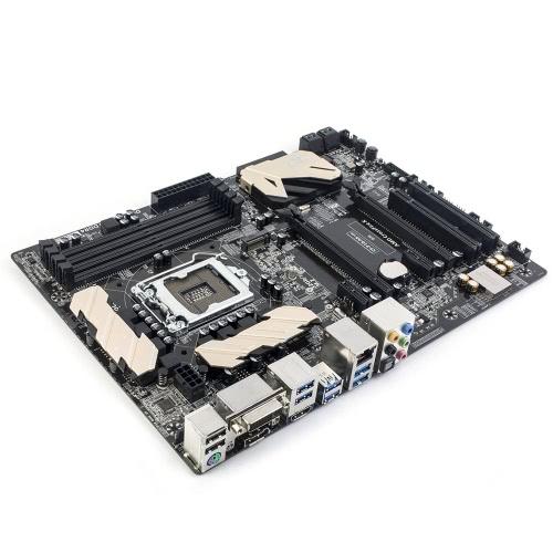 Colorido Batalha AXE C.Z170 Gamer V20 Motherboard Mainboard Systemboard para Intel Z170 / LGA 1151 DDR4 ATX SATA-E Suporte USB3.1 M.2 Porto CrossFireX for Desktop