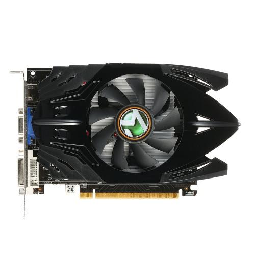 Maxsun GeForce GT730 Transformadores 2G Gaming Video Graphics Cartão 902MHz / 5010MHz 2GB / 64bit DDR5 PCI-E HDMI + DP + DVI Porto