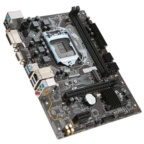 Batalha colorida AX C.B250M-D mais V20 Motherboard Mainboard Systemboard para Intel B250 / LGA1151 DDR4 SATA3 USB3.0 M.2 mATX para Desktop