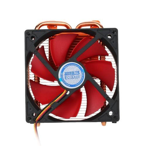 PCCOOLER 2 Heatpipes Radiator Cooler de cartão gráfico para NVIDIA AMD Cooling VGA Fan 100mm PWM Fan