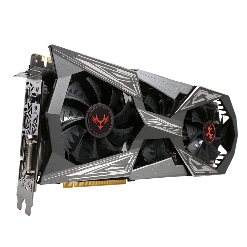 Kolorowe iGame NVIDIA GeForce GTX 1070Ti Vulcan X Top 8G 256-bitowa karta graficzna