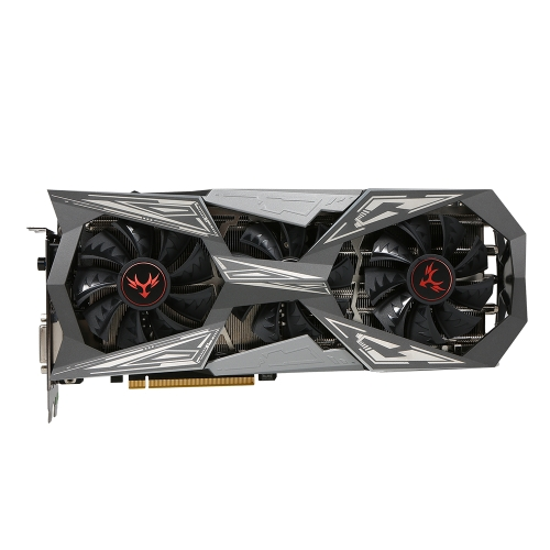 Colorful iGame NVIDIA GeForce GTX 1070Ti Vulcan X Top Graphics Card 1607/1683MHz 8G GDDR5 256bit PCI-E 3.0 SLI VR Ready with HDMI