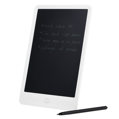 10 polegadas LCD Writing Tablet Portable Graffiti Digital Drawing Board Mensagem Memo Electronic Handwriting Pads White