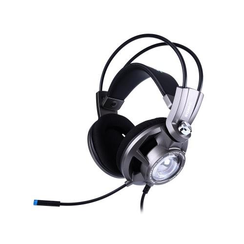 Somic G955 Gaming Headset Plugue USB 7.1 Virtual Surround Sound Headphones