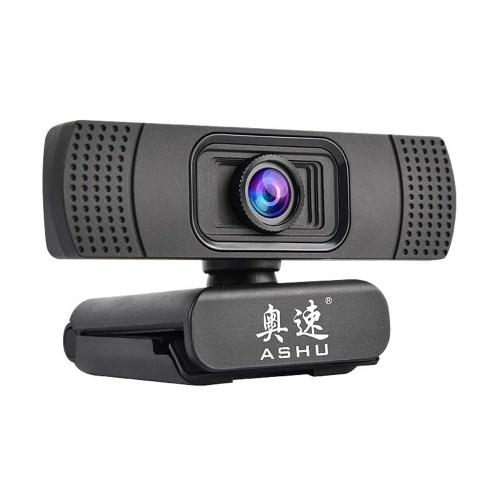 Caméra Web Numérique ASHU Webcam 1080P USB 2.0 Web
