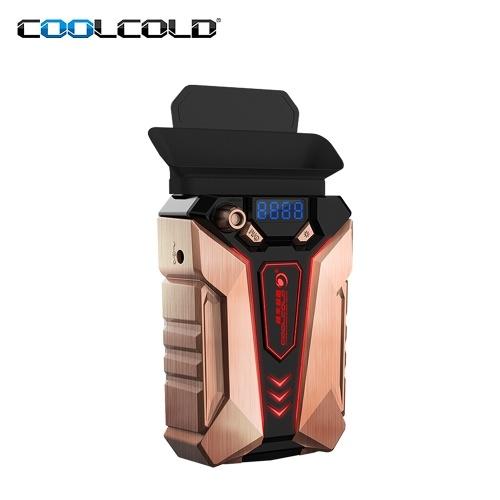 COOLCOLD K30 Ventilatore di raffreddamento ad estrazione di aria portatile per computer portatile Luce di raffreddamento per raffreddatore in lega di rame per computer portatile a basso rumore