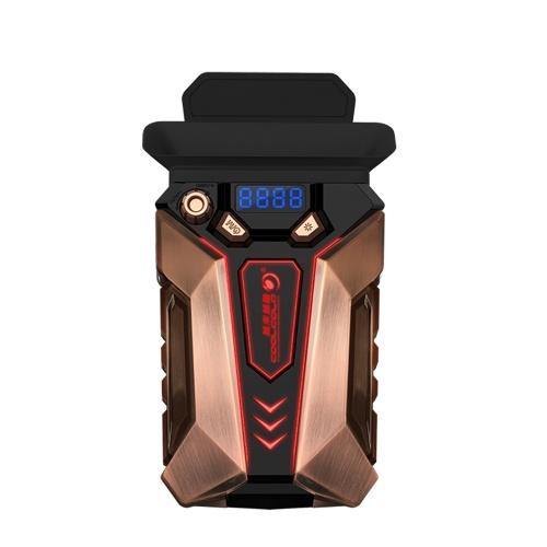 COOLCOLD K30 Ноутбук Воздухоочиститель Охлаждающий Вентилятор Портативный Компьютер Охладитель Медного Сплава Дыхательный Свет Низкий Уровень Шума