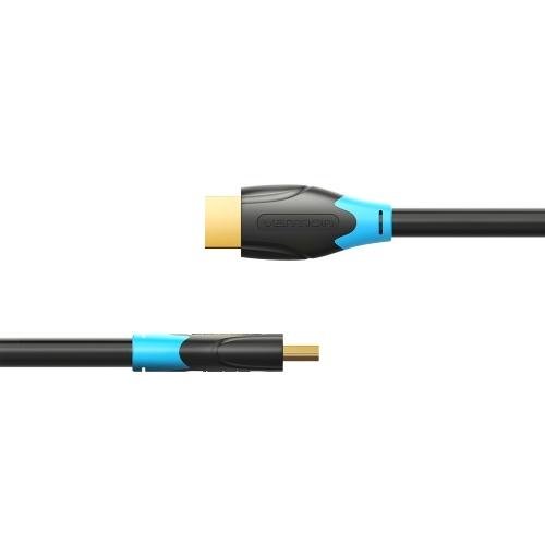 Vention Cable HDMI 4K Cable digital de alta definición Cable de video 3D Cable de datos 10.2Gbps 18Gbps Proyector TV portátil Monitor LCD Caja de TV Cable 3m