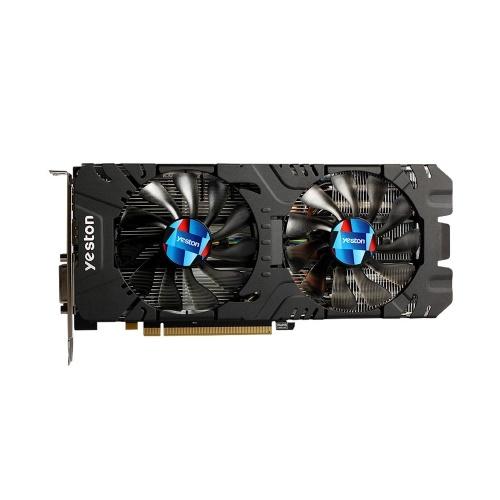 Yeston RX580-2048SP-4G D5 GAEA Graphics Cards Radeon Chill Polaris 20 Dual Fan Cooling 4GB Memory GDDR5 256bit DP/HDMI/2xDL-DVI-D GPU