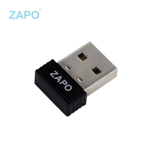 ZAPO W4 150 Мбит / с Micro Wireless USB Сетевая карта WiFi адаптер приемник передатчик