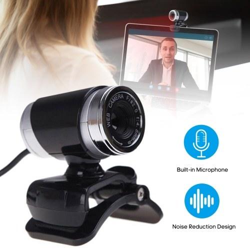 Веб-камера USB Веб-камера высокой четкости с клипсой на базе Встроенный микрофон USB2.0 Веб-камера для ПК Портативный компьютер